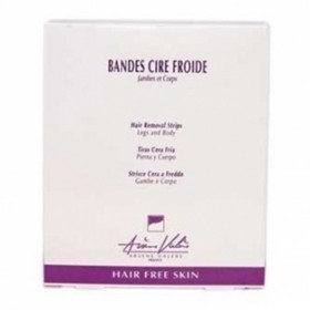 BANDES CIRE FROIDE JAMBE PAR 6