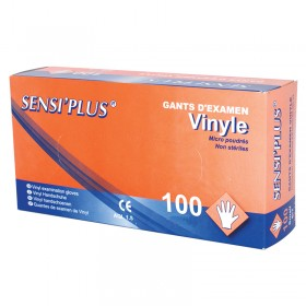 GANTS VINYLE MEDIUM PAR 100