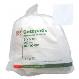 COTON CARRE 5X5 CM(500)