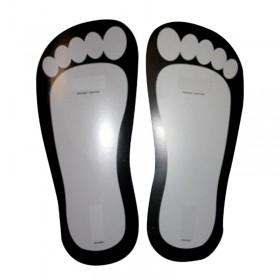 FEET STICKERS PROTECTIONS PIEDS /25