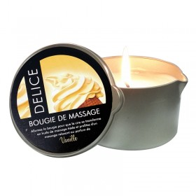BOUGIE DE MASSAGE VANILLE 200ML