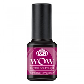 VERNIS WOW LCN N°19 BORDEAUX TEMPT  8 ML