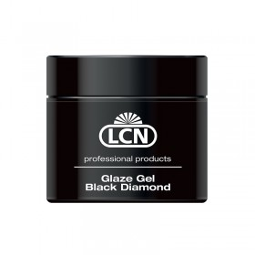 GEL GLAZE GEL BLACK DIAMOND 10ML LCN