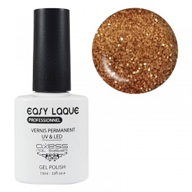 VERNIS UV PERMANENT GLITTER AXESS N°189