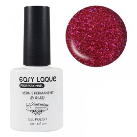 VERNIS UV PERMANENT GLITTER AXESS N°213