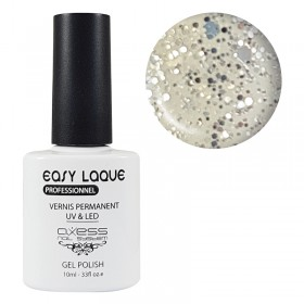 VERNIS UV PERMANENT GLITTER AXESS N°296