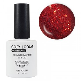 VERNIS UV PERMANENT GLITTER AXESS N°266