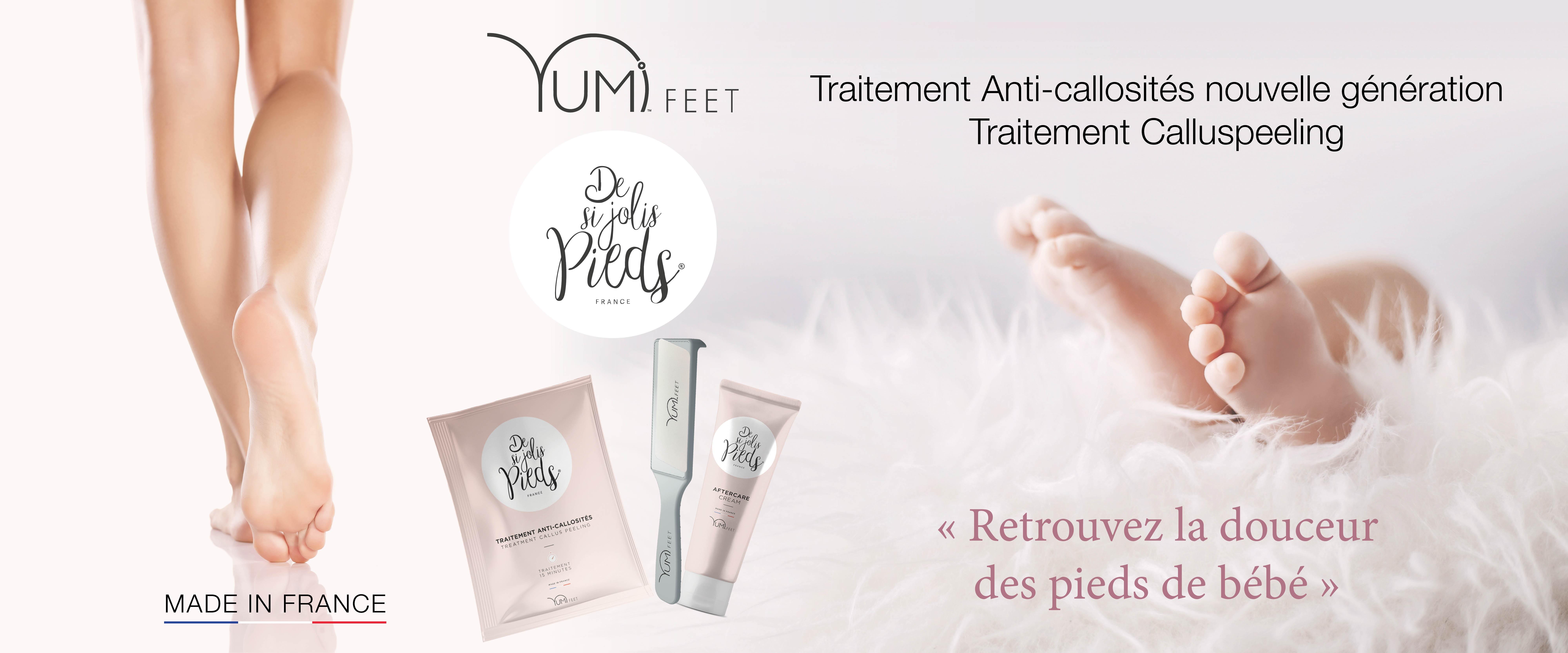 Yumi Feet soin Calluspeeling